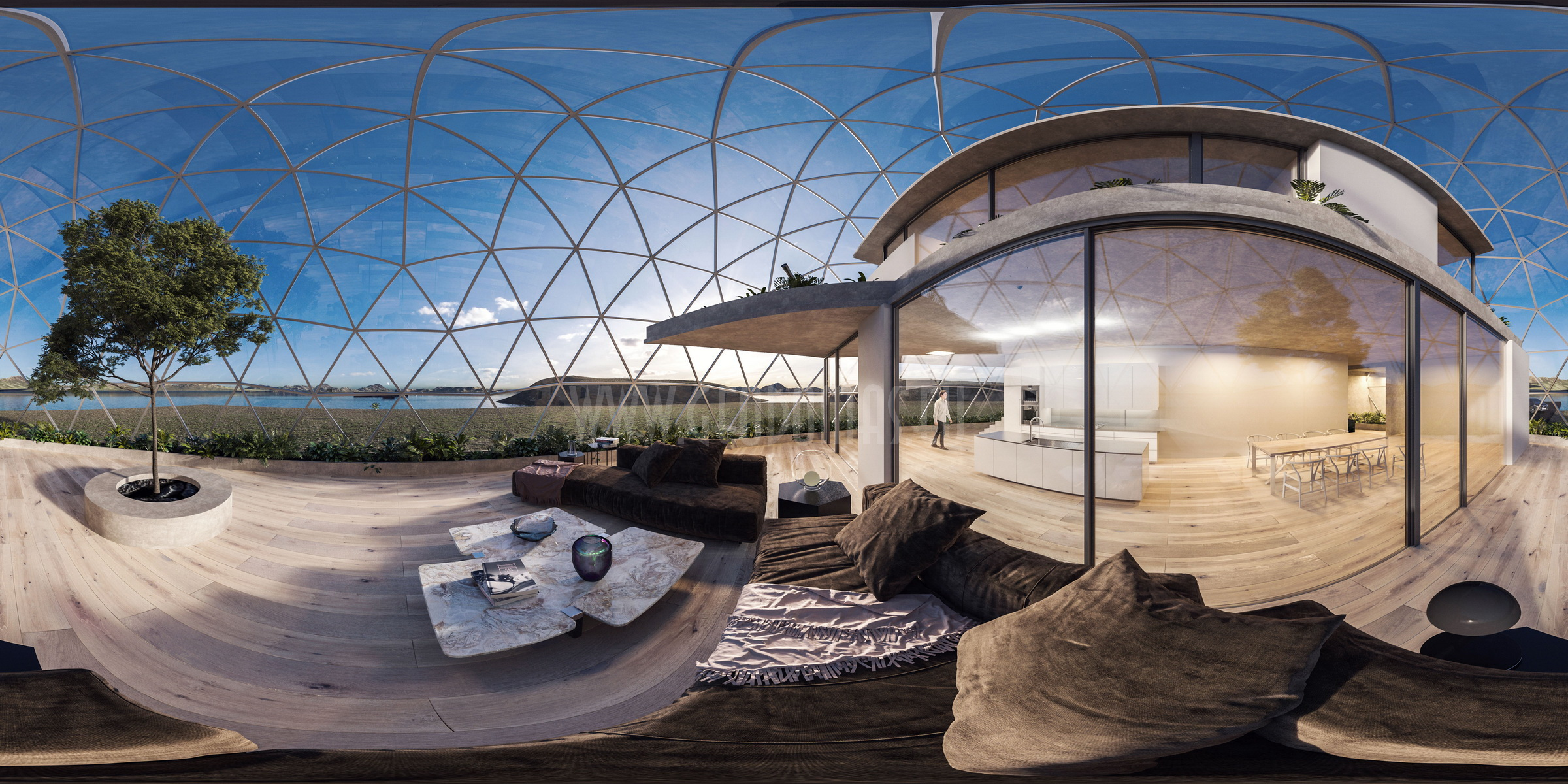 VR interactive 360°   Professional authoring