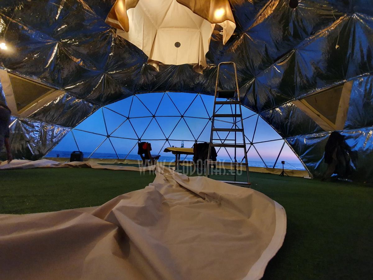 50m² Glamping Dome Ø8m VIP ROOM   Palanga Life Guard Station, Lithuania
