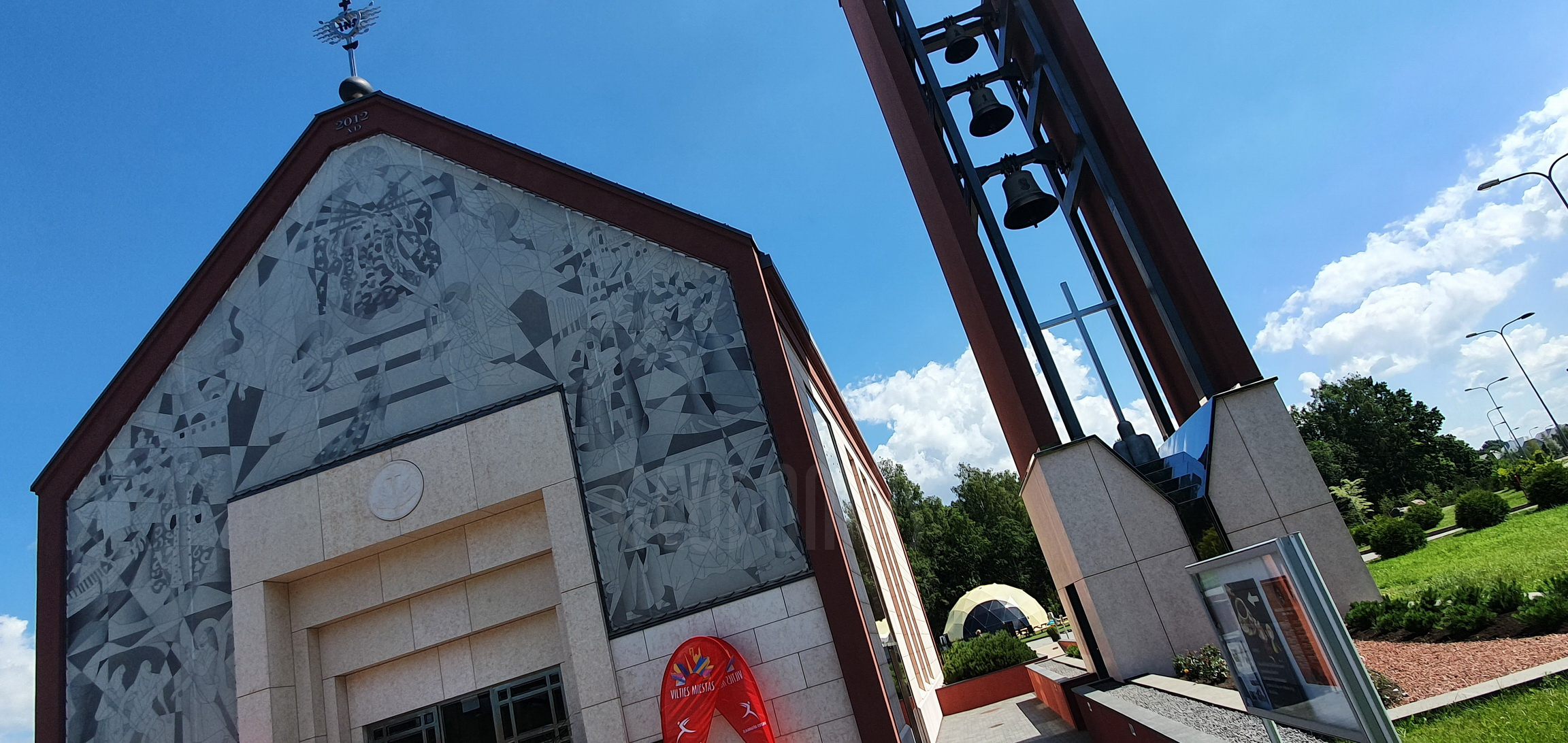 ⌀11m 95m2 St. Church of Francis of Assisi | Klaipeda
